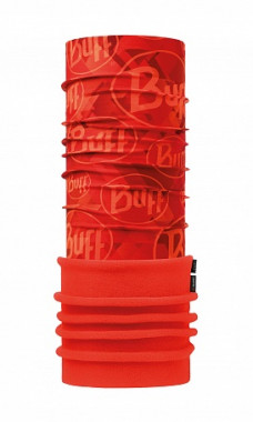 Бандана Buff POLAR TIP LOGO ORANGE FLUOR