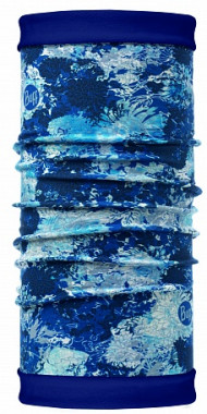 Бандана Buff REVERSIBLE POLAR WINTER GARDEN BLUE