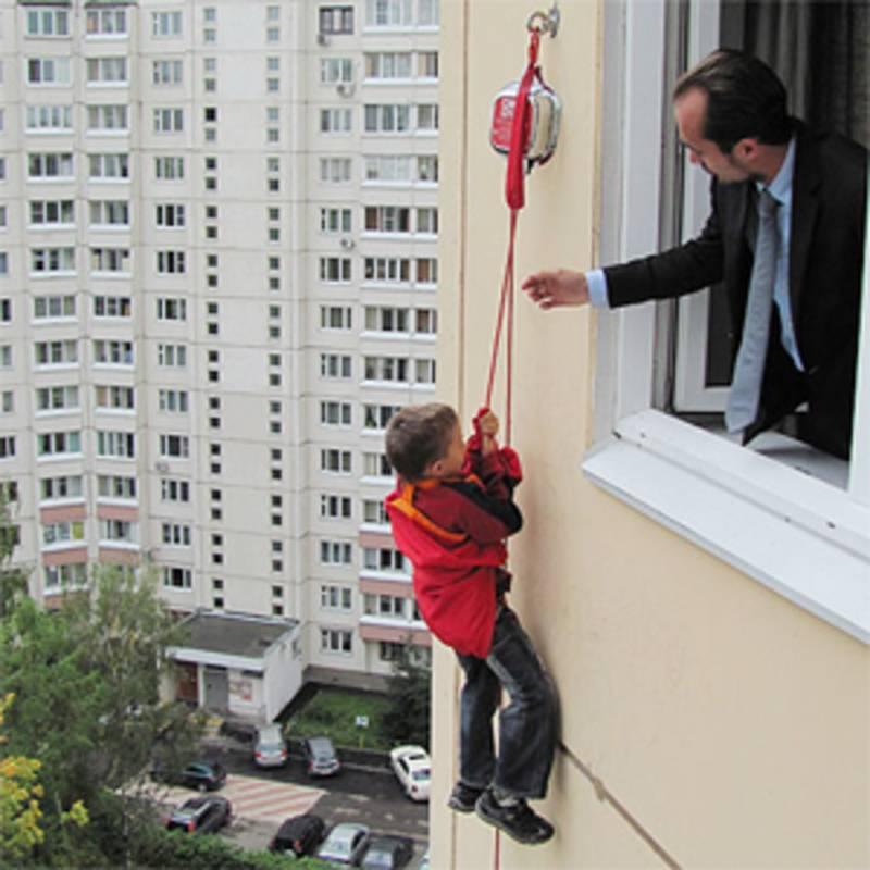 Устройство спасения из многоэтажных домов - центр-спас магаз.